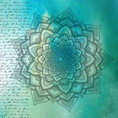Háttér, Mandala, Textúra, Grunge