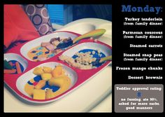 Ideas for Toddler Meals