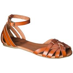 Women's Shauna Huarache Sandals $19.99. Not my typical style but a coworker wore them today and they were so cute.
