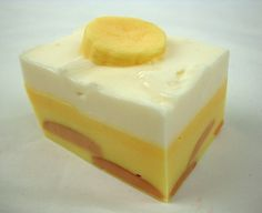 BIG Banana Pudding  Hunk of Goat's Milk Soap Bar by soapopotamus, $7.00