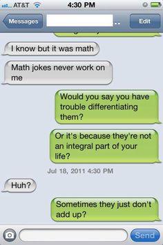 e65f46cc Calculus Humor, Science Humor, Chemistry Jokes, Love Math, I Love To Laugh