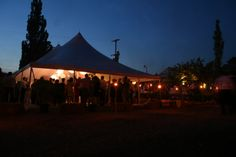 Keep the party going even when the sun goes down with our amazing tent lighting! Call 844-TENTPRO for more information!