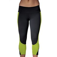 VATA Brasil™ Colorblock High Support Capris wahhh why these gotta be $100