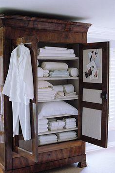 armoire repurposed