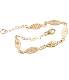 Diamond Petal Bracelet - Audry Rose