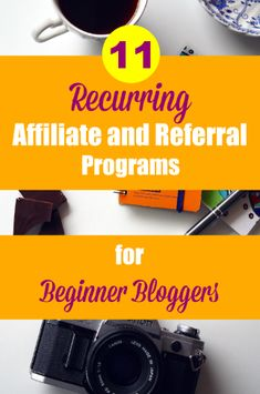 No less than 11 Recurring Affiliate and Referral Programs to get you started with earning affiliate income on an ongoing basis.