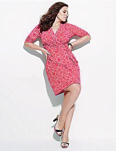 Perfect spring dress- I love the tiny polka dots!
