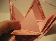 Pyramid Explosion Box & Tutorial ~ Marie Loves to Keep Busy!