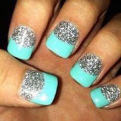 Turquoise Friday Nails Design!! - janetnavedofashion's photo on Instagram - Instagrille