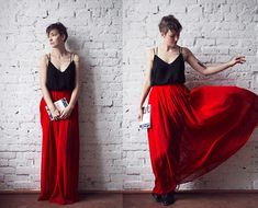 Charlotte Rouge Skirt, Zara Top, How To Be Parisian Book
