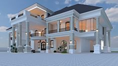 Dream Home Design, Modern House Design, Free Floor Plans, Modern Bungalow Exterior, Front Walkway, Cabin Homes, House Architecture, Design Firms, Decoration