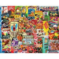 """You can't buy much with a penny these days, but it used to be just enough for a delicious piece of candy. Go back to a simpler time with this 550-piece jigsaw puzzle by White Mountain. Finished puzzle 18""""x24"""".White Mountain Puzzles Inc. is proud to manufacture their products here in the USA and call Jackson Village, NH – in the heart of the actual White Mountains – their home. Their puzzles are now printed on blue chip board; a thicker and more high quality material. This adds a comfortable…"""
