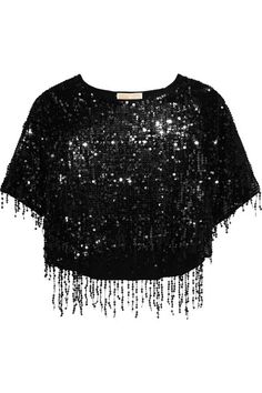 MICHAEL Michael Kors | Sequined cotton and modal-blend top | NET-A-PORTER.COM