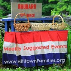 Hilltown Families list of Weekly Suggested Events for Father's Day Weekend is up and packed with great ways to celebrate not only that special dad in your life, but also the first weekend of Summer!