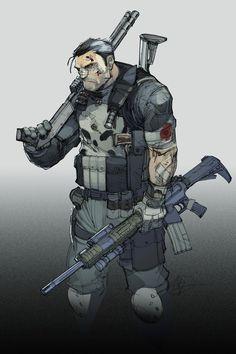 The+Punisher+by+Max-Dunbar.deviantart.com+on+@DeviantArt