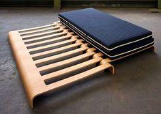 Sofá-cama que se convierte en cama doble