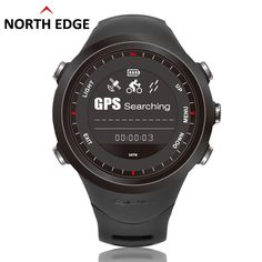 Running Men's Sports watches GPS watch Digital Waterproof military men Heart Rate Monitor Altimeter Compass hours Climbing