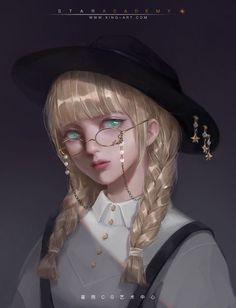 """""""Tê liệt từ phần eo xuống và..CHẾT. Mày có 3s để chạy, Tích Tắc""""🎲 Kawaii Anime Girl, Anime Art Girl, Manga Girl, Character Portraits, Character Art, Korean Anime, Audrey Kawasaki, Digital Art Girl, Girls Characters"""