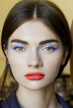 Dior Couture Fall 2012: Backstage Beauty: Beauty: teenvogue.com