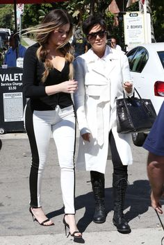Khloe Kardashian and Kris Jenner Film Together — Which Lady Isn't Wearing Her Wedding Ring