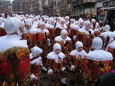 Carnaval de Binche, Belgium.