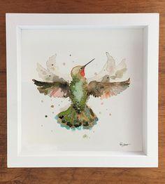 Hummingbird In Flight Art Print by Betty Hatchett Designs on Scoutmob
