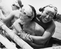 Laughing Ama, 1936    National Geographic collection