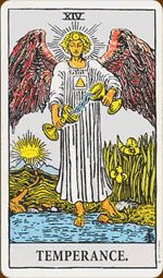 The focus of this card is on...  All things that you thought you had completed, that is old friends, lovers, habits, desires, health, money, or business problems and situations that you thought you dealt with, will arise to test you. You may be experiencing situations that will stir up old wounds or deep seated problems and will feel that you have been caught off guard.