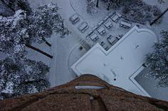Pyynikin näkötorni, Tampere Snow, Outdoor, Outdoors, Outdoor Games, The Great Outdoors, Eyes, Let It Snow