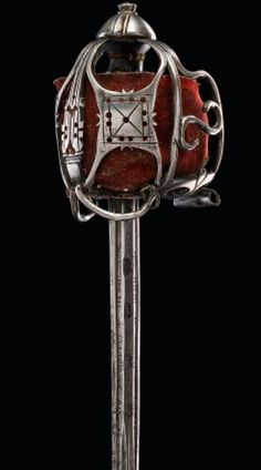 A Scottish basket-hilted broadsword, first quarter of the 18th century. Favorite style sword ever made!