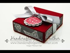Gift Box Punch Board Video Tutorial - Stampin' Up! Mini Albums, Envelope Punch Board Projects, Envelope Box, Artisanal, Craft Tutorials, Gift Bags, Making Ideas, Stampin Up, Paper Crafts