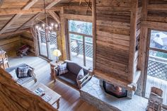 Photograph gallery of the luxury ski chalet, La Grange au Merle, by Clarian Chalets. Includes views over the charming ski resort village of Chatel. Alpine Chalet, Ski Chalet, Snowy Forest, Underfloor Heating, Old Wood, Wood Paneling, Skiing, Relax, Indoor