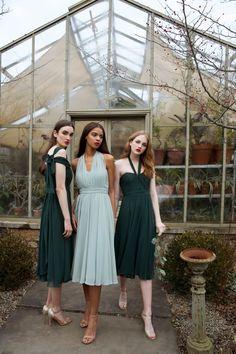 971644abfe Emmie Dress. Different NecklinesStrapless Sweetheart NecklineBridesmaid  DressBridesmaidsDress IdeasSummer WeddingConvertibleMidi SkirtCocktail