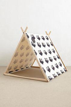 Black Bear Play Tent - anthropologie.com