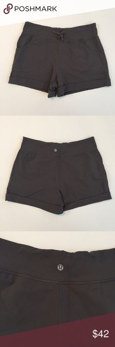 Lululemon Spring Break Shorts! Inseam is 3 inches. Waist measures 14.5 inches lying flat. Length measures 12 inches. 87% nylon, 13% lyrca. Perfect for lounging or athletic wear!  No trades. Offers below 60% will be declined and user will be blocked! lululemon athletica Shorts