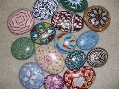Painted rocks | Flickr - Photo Sharing!