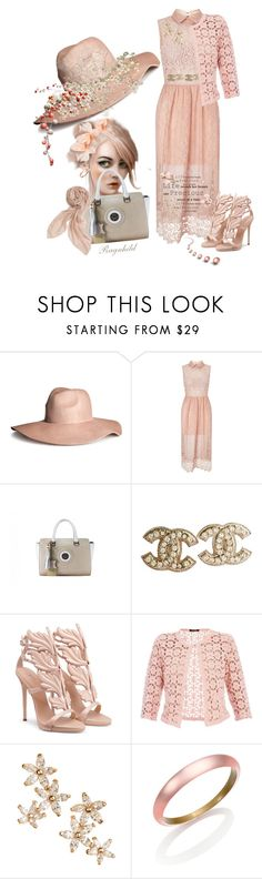 """""""Make a Hat,Style an Outfit - Contest"""" by ragnh-mjos ❤ liked on Polyvore featuring H&M, Miss Selfridge, Chanel, Betty Barclay, Bonheur, Alexis Bittar and Stella & Dot"""
