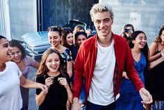 Lucky Blue Smith▷Vanity Fair