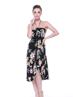 7e4aedf910 Hawaii Hangover Women s Hawaiian Butterfly Dress L Hibiscus Black Online  Exclusive from Hawaii Hangover Designed in Hawaii