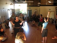 Dance and movement therapy to heal trauma.
