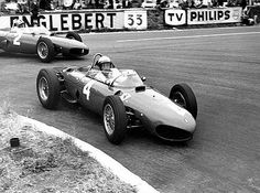 Ferrari Dino 156, V-6, Phil Hill Spa 1961