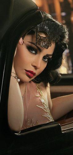 haifa wehbe #makeup. V
