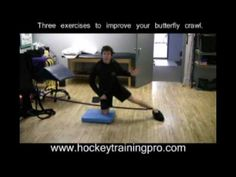 Three Off Ice Drills for Goalies: Better Butterfly Crawl