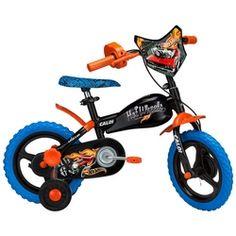 Bicicleta Caloi Hot Wheels - Quadro em Aço - Aro 12 - Preto/Azul Desconto Centauro para Bicicleta Caloi Hot Wheels - Quadro em Aço - Aro 12 - Preto/Azul por apenas R$ 391.99.