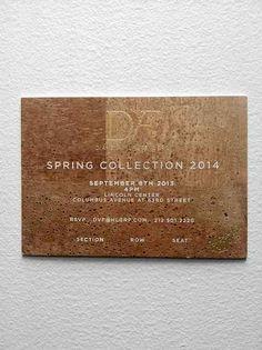 The Best New York Fashion Week Invitations of Spring 2014 - Fashionista