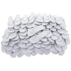 £19.98 - Zohula White Flip Flops - Bulk Buy 10 - 100 pairs From only £1.10 per pair + lot