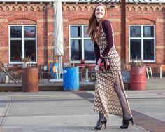Retro Sonja Dutch Fashion Blogger Ana Alcazar Dress Fashion Week