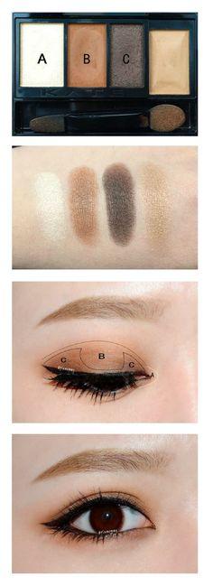 37 New Ideas For Makeup Looks Dark Skin Eyeshadows - Eyeliner Asian Makeup Tutorials, Korean Makeup Tips, Asian Eye Makeup, Natural Eye Makeup, Blue Eye Makeup, Eye Makeup Tips, Makeup Ideas, Makeup List, Bronze Makeup