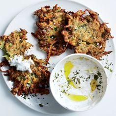 zucchini crisp fritters.