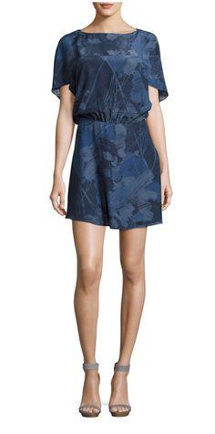 5db5715a2b3f Halston Heritage Boat-Neck Short-Sleeve Mini Dress Size 2  fashion  clothing   shoes  accessories  womensclothing  dresses (ebay link)   ...